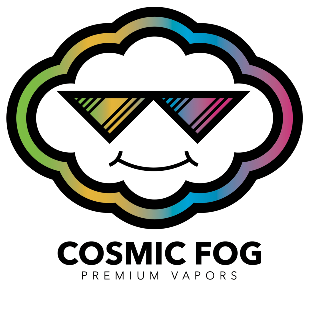 Cosmic Fog Rainbow Logo